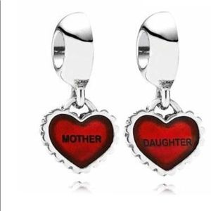 Jewelry - Pandora's Set of Bracelet, Mother & Daughter Charm
